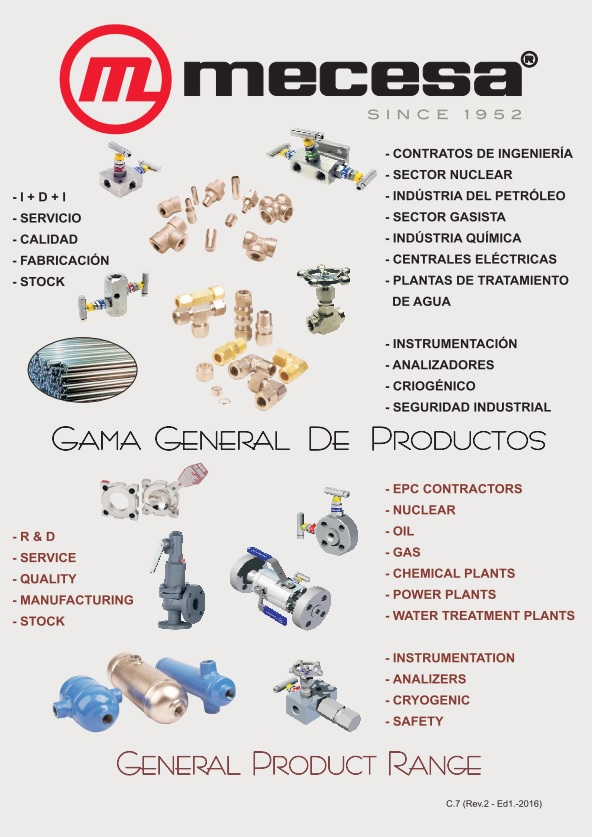 Descarga la gama general de productos