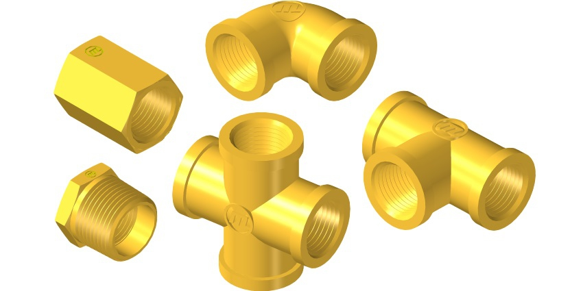 Brass Pipe and threaded fittings Serie®