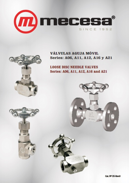 Loose disc needle valves AM®