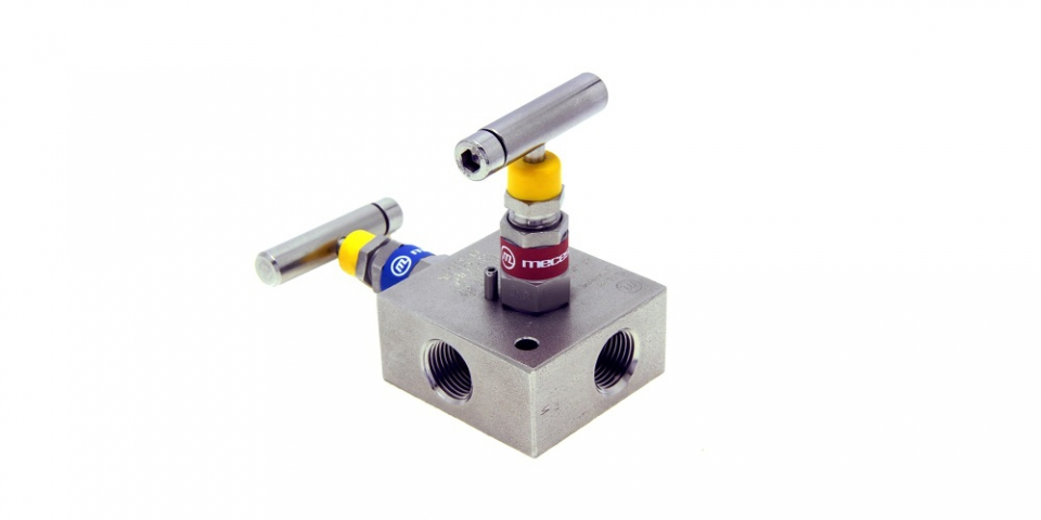 1 way 2 valves, threaded connections, standard (Ref. MC0-12)