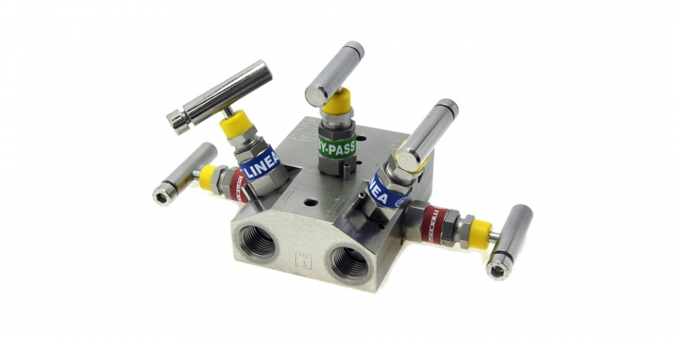 2 ways 5 valves, threaded connections, standard (MC0-25)
