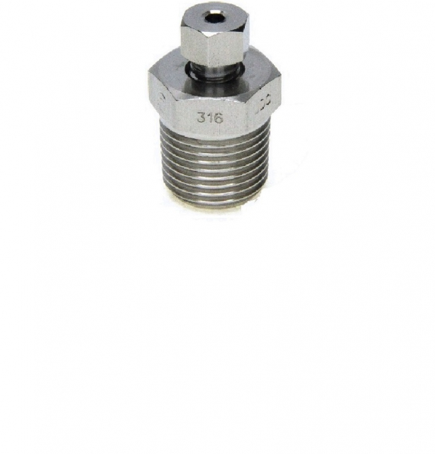 DRAIN PLUG WITH HEXAGONAL HEAD BOLT
