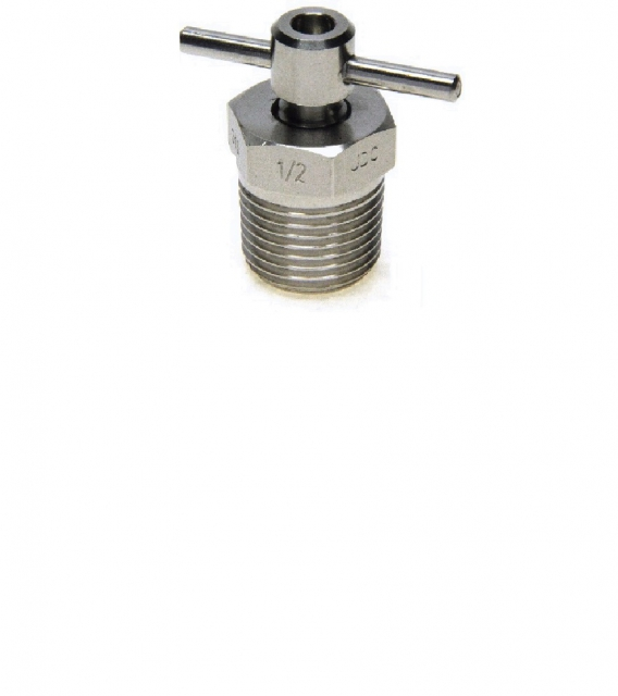 DRAIN PLUG WITH COTTER PIN