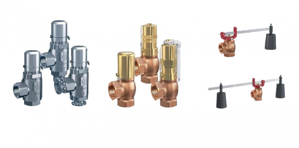 COMPACT SAFETY RELIEF VALVES