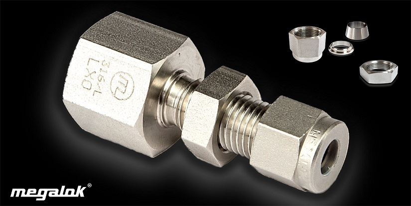 Bulkhead female thread connector