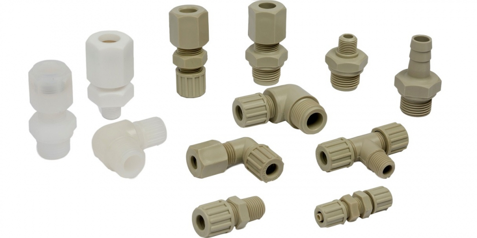 Plastic Tube Fittings and Plastic Tube Adapters