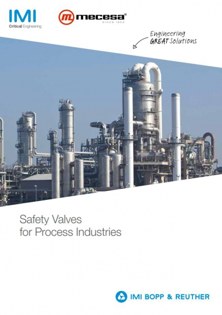 PRESSURE SAFETY AND RELIEF VALVES