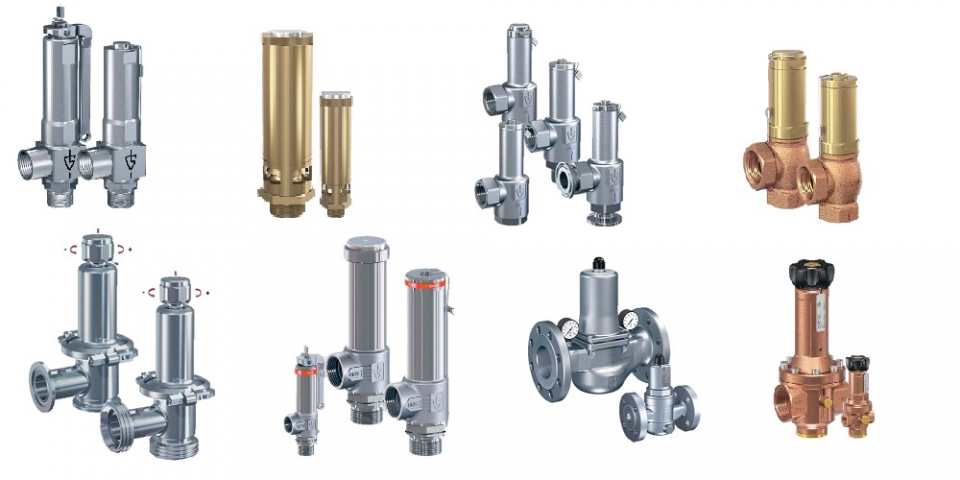 PRESSURE SAFETY, RELIEF AND CONTROL VALVES - GOETZE