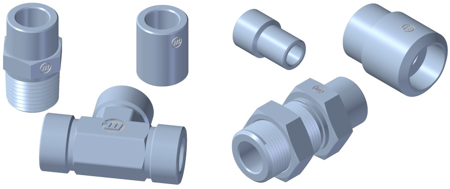 ASME B31.1 / ASME B16.11 / ASME B16.34
