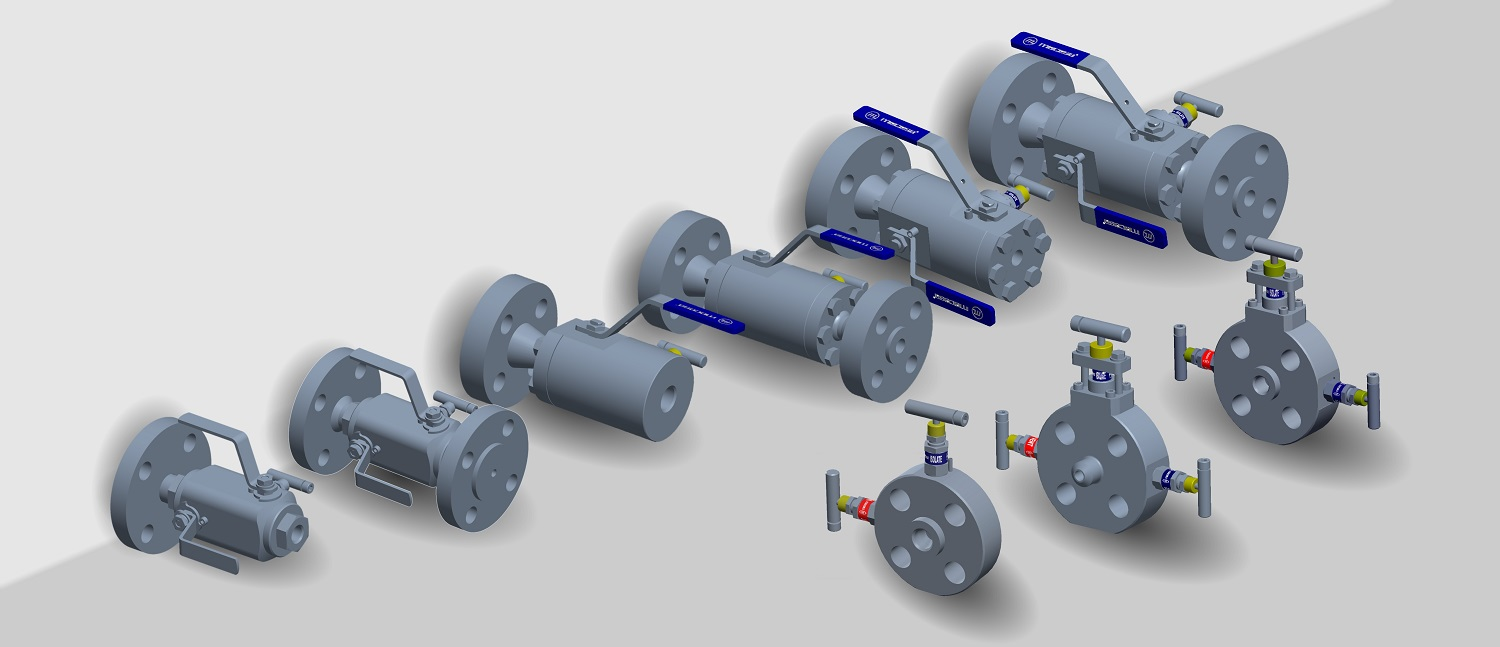 Process Interface Valves CAD design & RDI